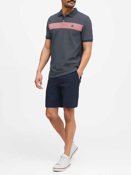 Erkek Beyaz Pique Kısa Kollu Polo T-Shirt