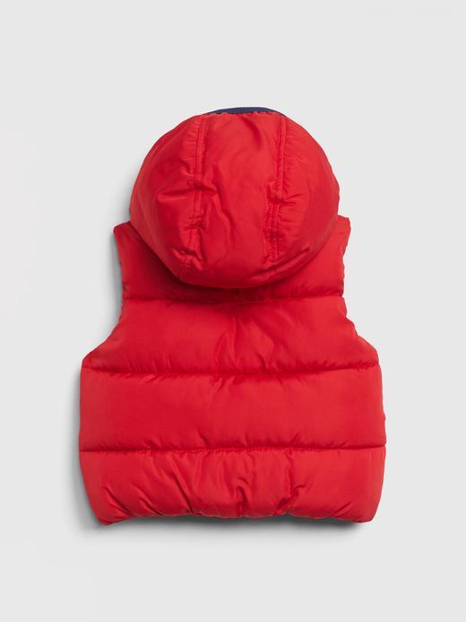Erkek Bebek Kırmızı BetterMade ColdControl Max Pufa Yelek