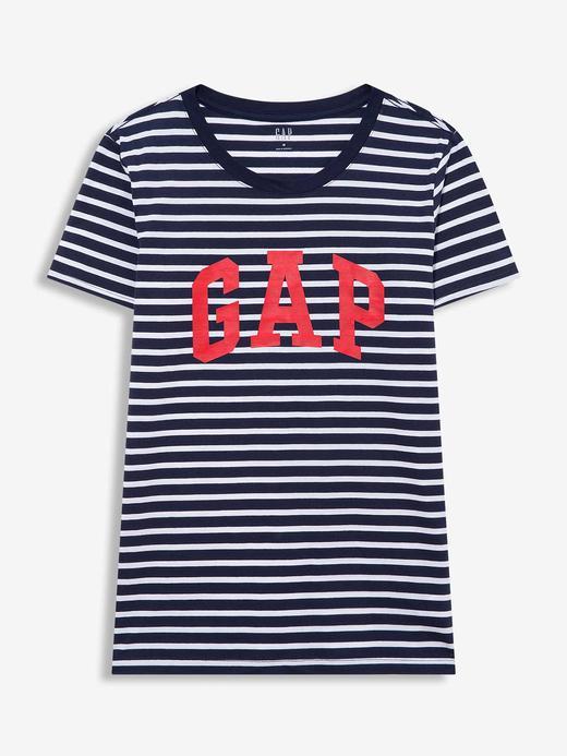 Kadın Çok Renkli 2'li Gap Logo Kısa Kollu T-Shirt Seti