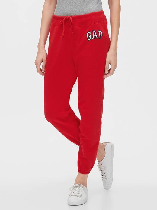 Kadın Kırmızı Gap Logo Eşofman Altı