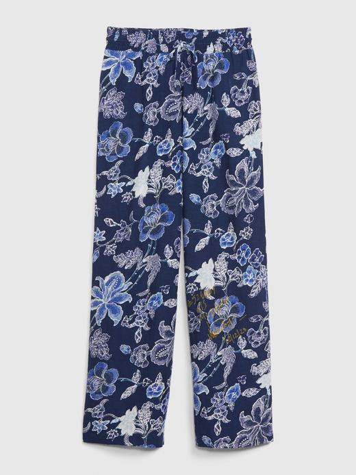 Kadın Lacivert Dreamwell Desenli Pijama Altı