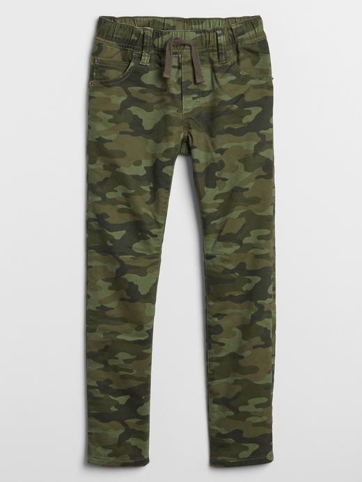 Erkek Çocuk Yeşil Pull-On Pantolon