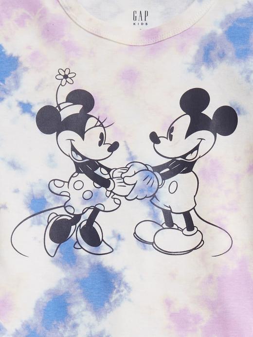 Kız Çocuk Beyaz Disney Mickey ve Minnie Mouse Pijama Takımı