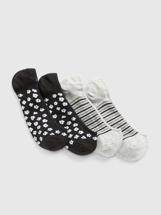 Kadın Siyah 2'li Babet Çorabı Seti
