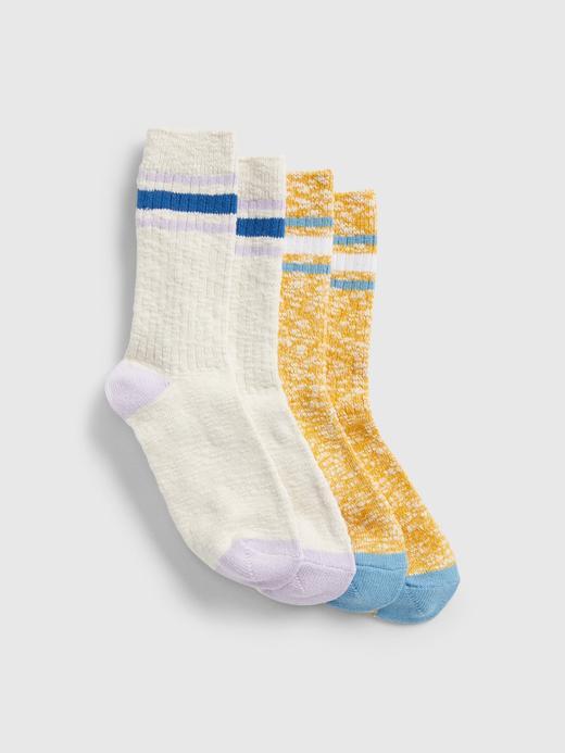 Kadın Sarı 2'li Çorap Seti