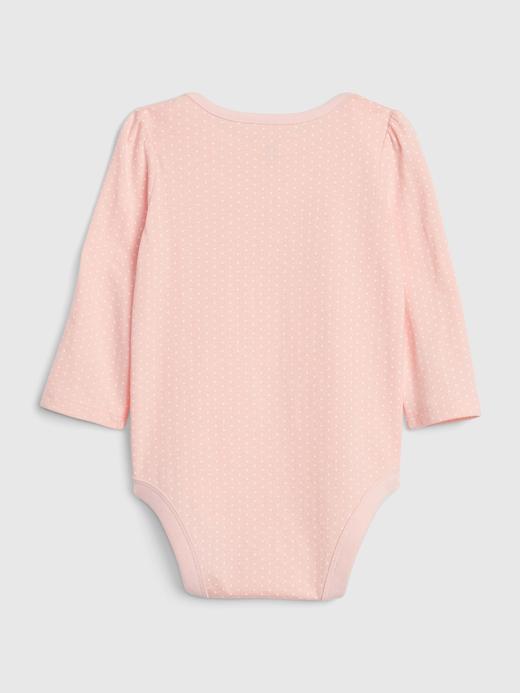 Kız Bebek Lacivert Gap Logo Uzun Kollu Body
