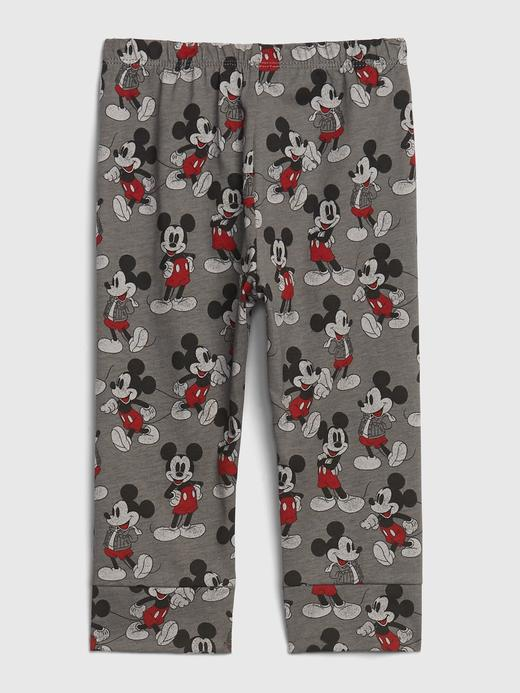 Erkek Bebek Gri Disney Mickey Mouse Eşofman Altı