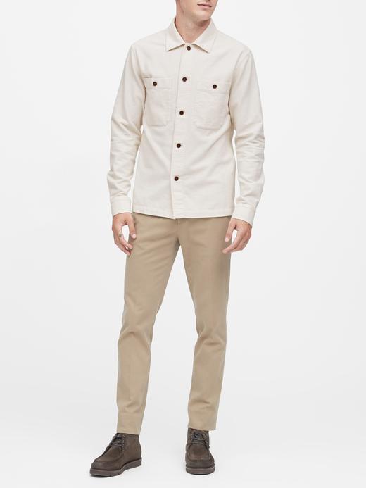 Erkek Bej Slim-Fit Ceket