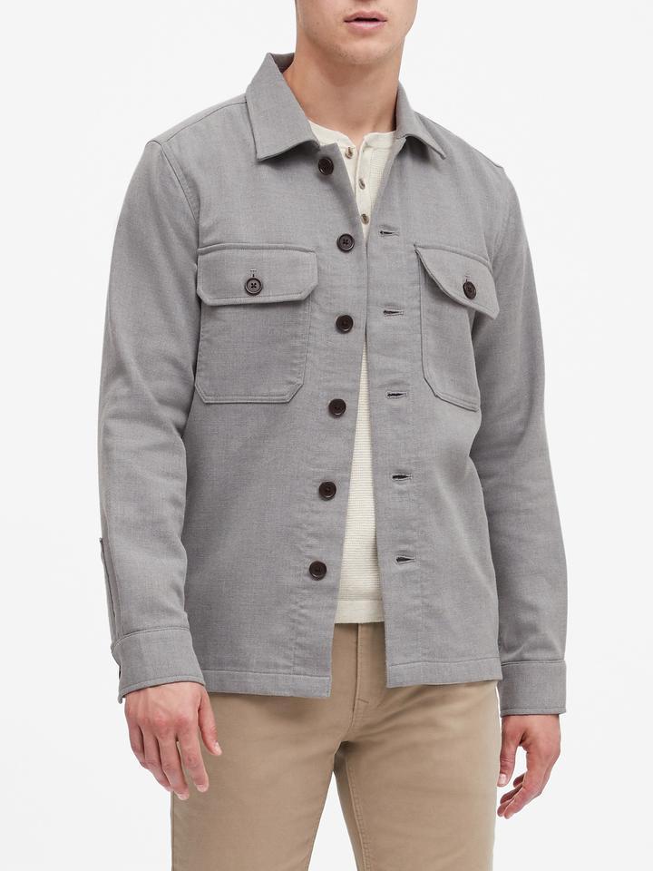Erkek Gri Slim Ceket