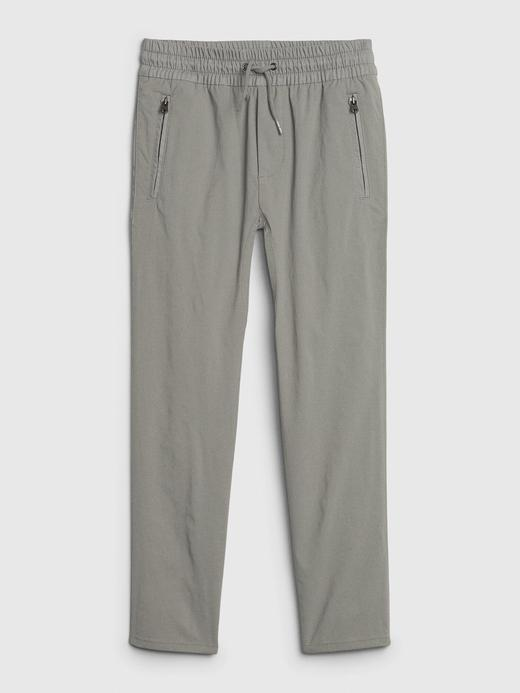 Erkek Çocuk Gri QuickDry Pull-On Pantolon