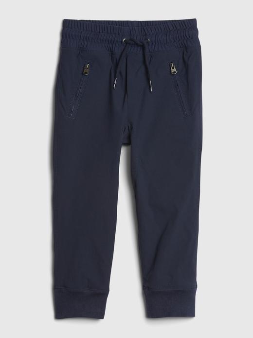 Erkek Bebek Lacivert Pull-On Jogger Pantolon