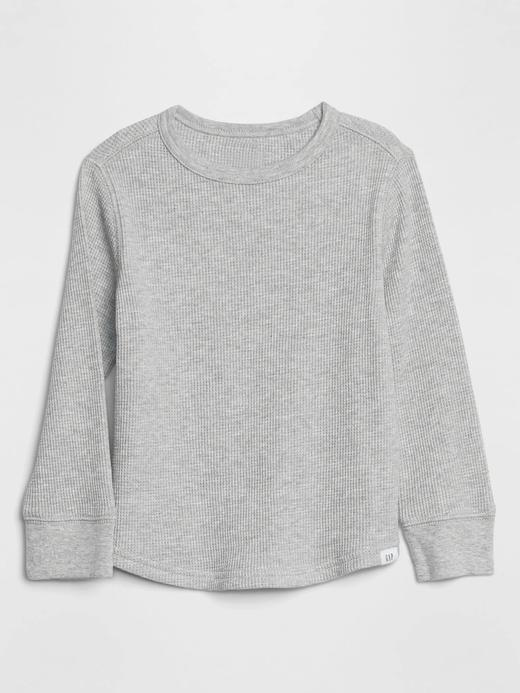 Erkek Bebek Gri Uzun Kollu T-Shirt