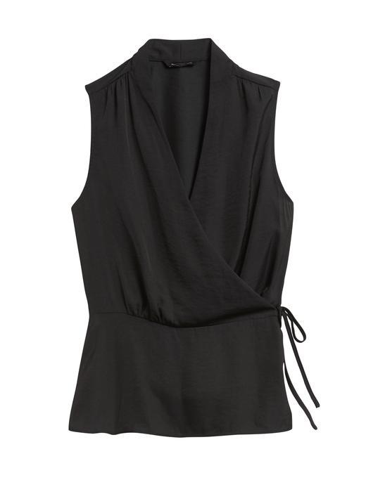 Kadın Siyah Anvelop Bluz