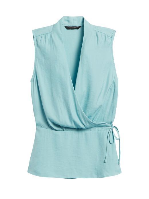 Kadın Mavi Anvelop Bluz