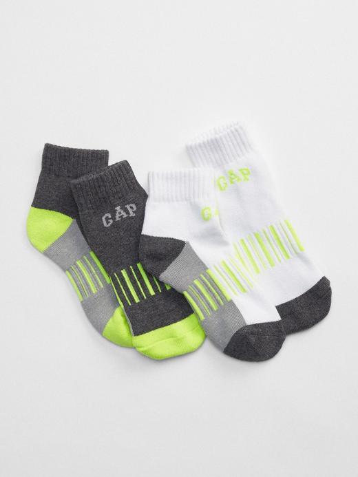 Erkek Çocuk Beyaz 2'li Çorap Seti