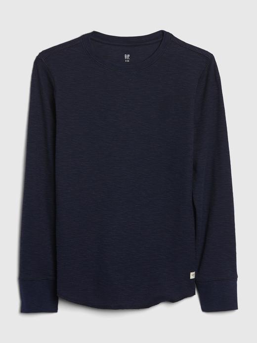Erkek Çocuk Lacivert Uzun Kollu T-Shirt