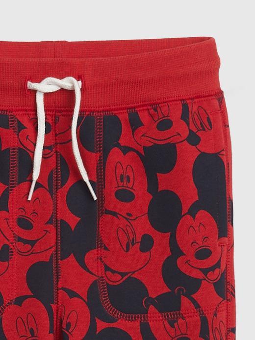 Erkek Bebek Kırmızı Disney Mickey Mouse Eşofman Altı