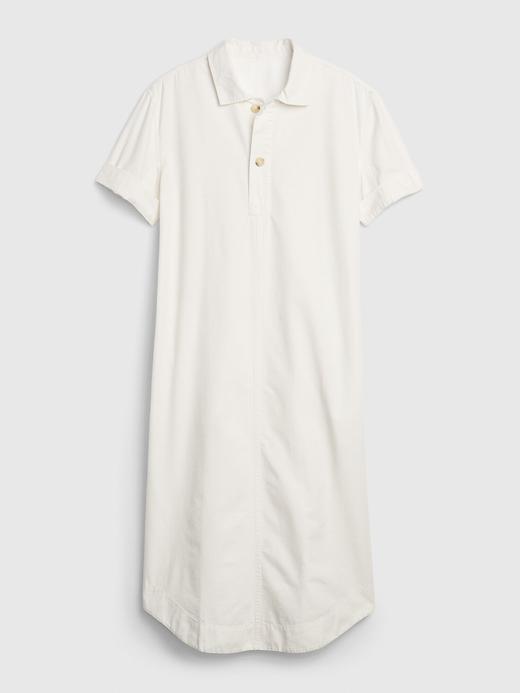 Kadın Bej Midi Gömlek Elbise
