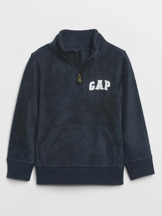 Erkek Bebek Lacivert Gap Logo Polar Sweatshirt