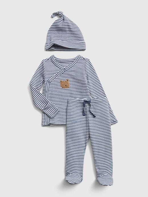 Erkek Bebek Mavi First Favorite Üst ve Alt Takım