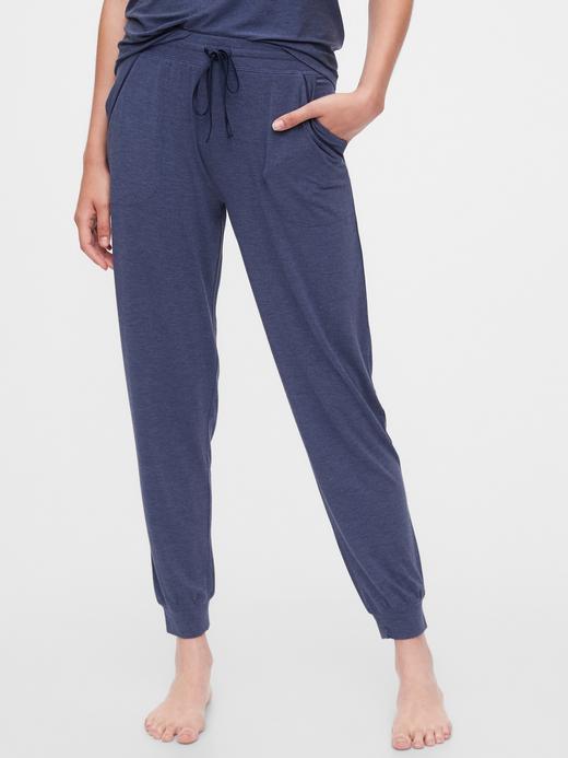 Kadın Mavi Modal Pijama Altı