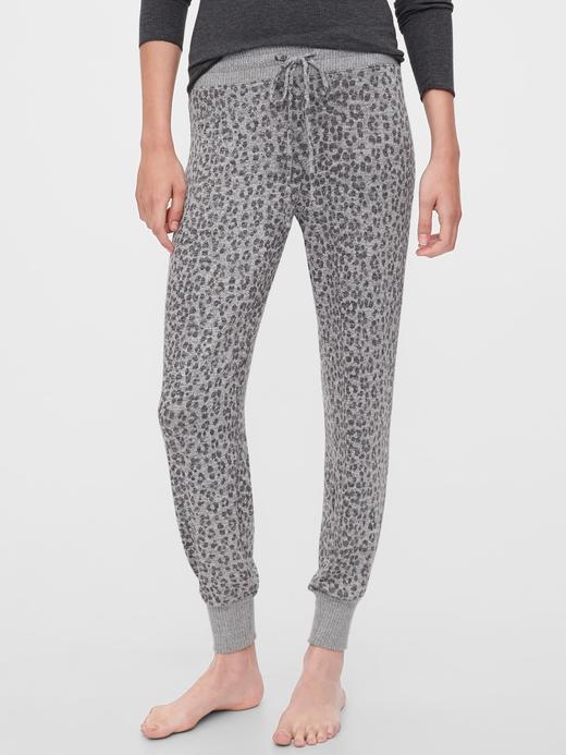 Kadın Gri Yumuşak Pijama Altı