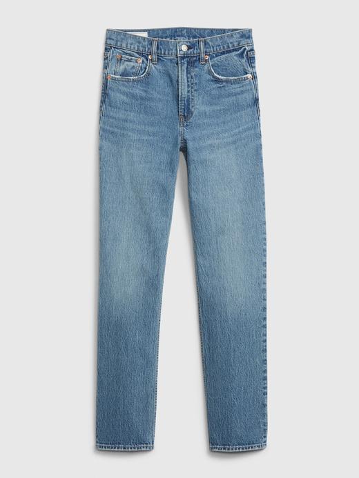 Kadın MAVİ Sky High Straight Leg Jean Pantolon