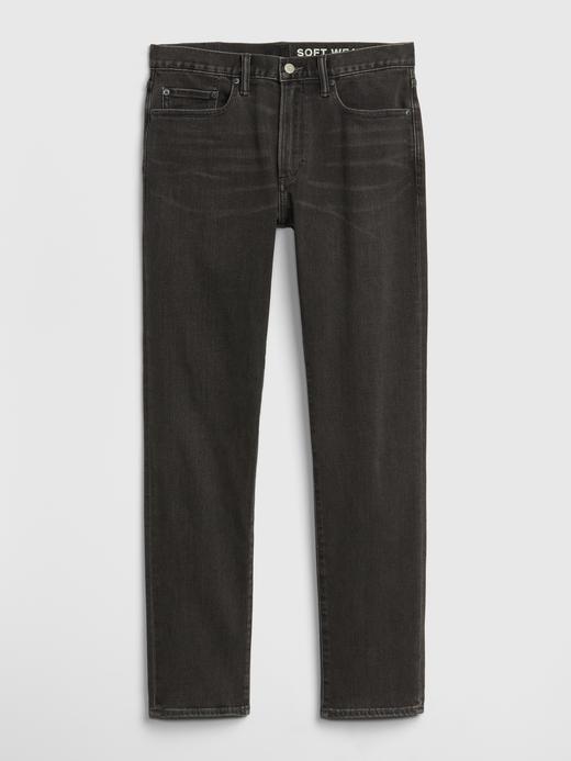Erkek Gri GapFlex Slim Jean Pantolon