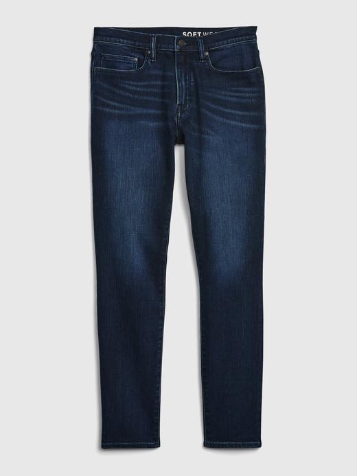 Erkek Lacivert GapFlex Skinny Jean Pantolon