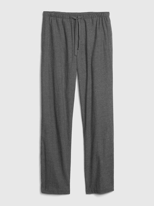 Erkek Lacivert Saf Pamuklu Pijama Altı