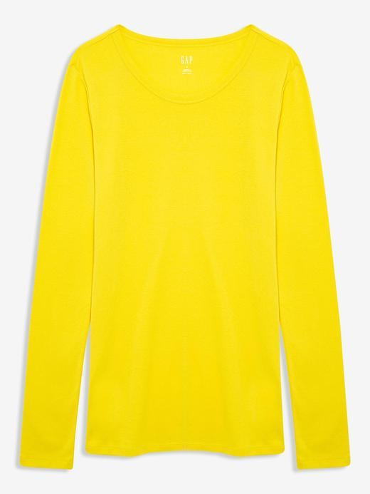 Kadın Sarı Uzun Kollu T-Shirt