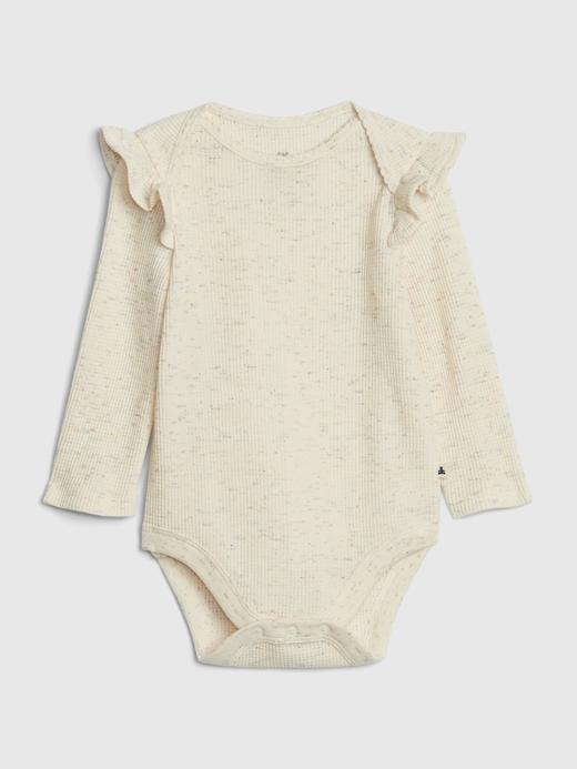 Kız Bebek Bej Uzun Kollu Body