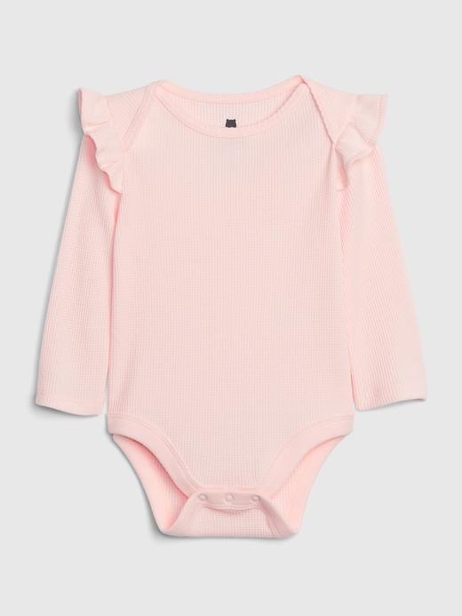 Kız Bebek Pembe Uzun Kollu Body