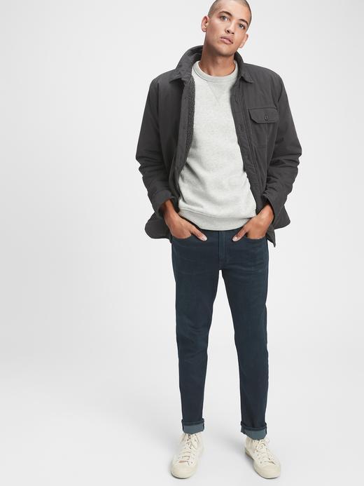 Erkek Lacivert GapFlex Soft Wear Slim Jean Pantolon