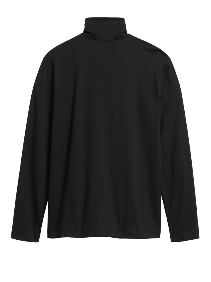 Erkek Mavi Luxury-Touch Performance Sweatshirt