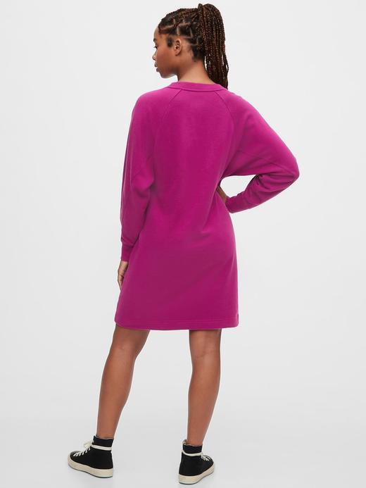Kadın Siyah Maternity Sweatshirt Elbise