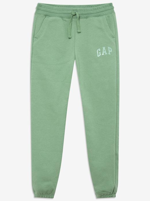 Kız Çocuk Yeşil Gap Logo Eşofman Altı