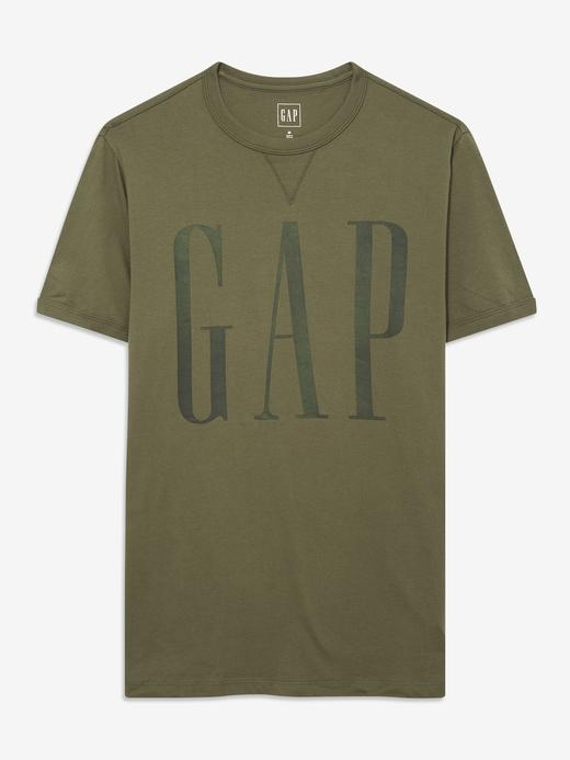 Erkek Yeşil Gap Logo T-Shirt