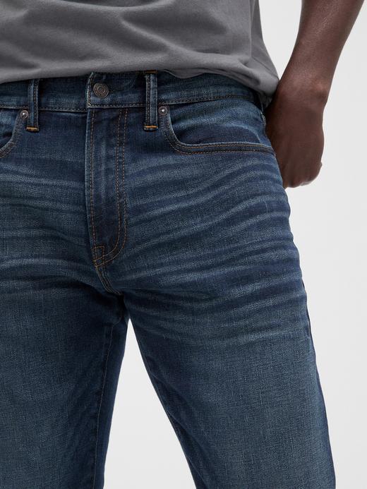 Erkek Lacivert Gap Flex Slim Jean Pantolon