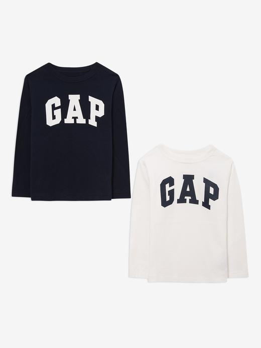 Erkek Bebek Lacivert 2'li Gap Logo T-shirt Seti