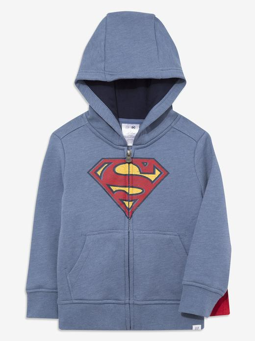 Erkek Bebek Lacivert DC™ Kapüşonlu Sweatshirt