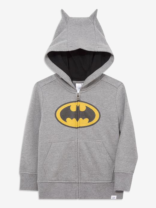 Erkek Bebek Gri DC™ Kapüşonlu Sweatshirt