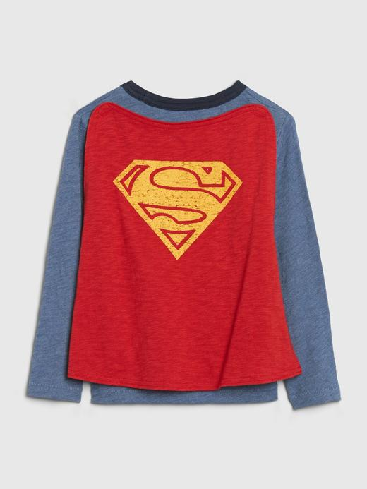 Erkek Bebek Gri DC™ Uzun Kollu T-Shirt