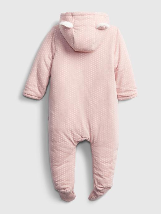 Erkek Bebek Pembe ColdControl Pufa Mont