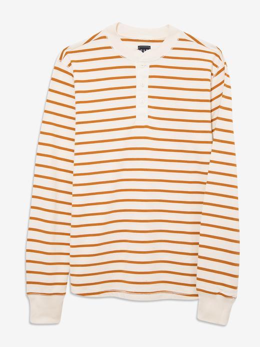 Erkek turuncu Uzun Kollu T-Shirt