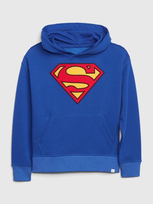Erkek Çocuk Lacivert DC™ Kapüşonlu Sweatshirt