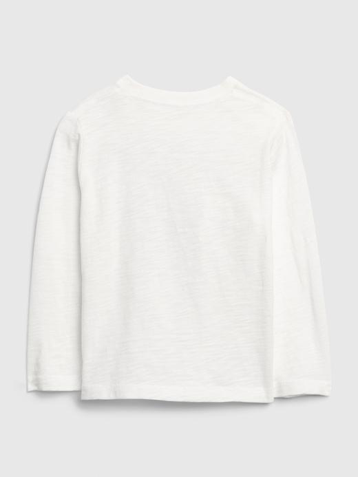 Erkek Bebek Beyaz Marvel Avengers Grafik T-Shirt