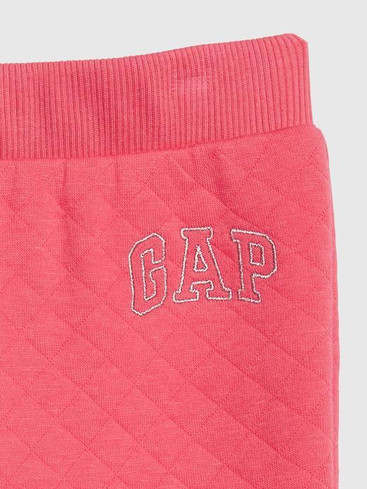 Kız Bebek Mor Gap Logo Eşofman Altı
