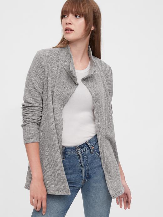 Kadın Gri Maternity Uzun Kollu Sweatshirt