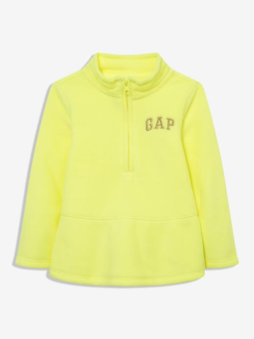 Kız Bebek Yeşil Gap Logo Polar Sweatshirt
